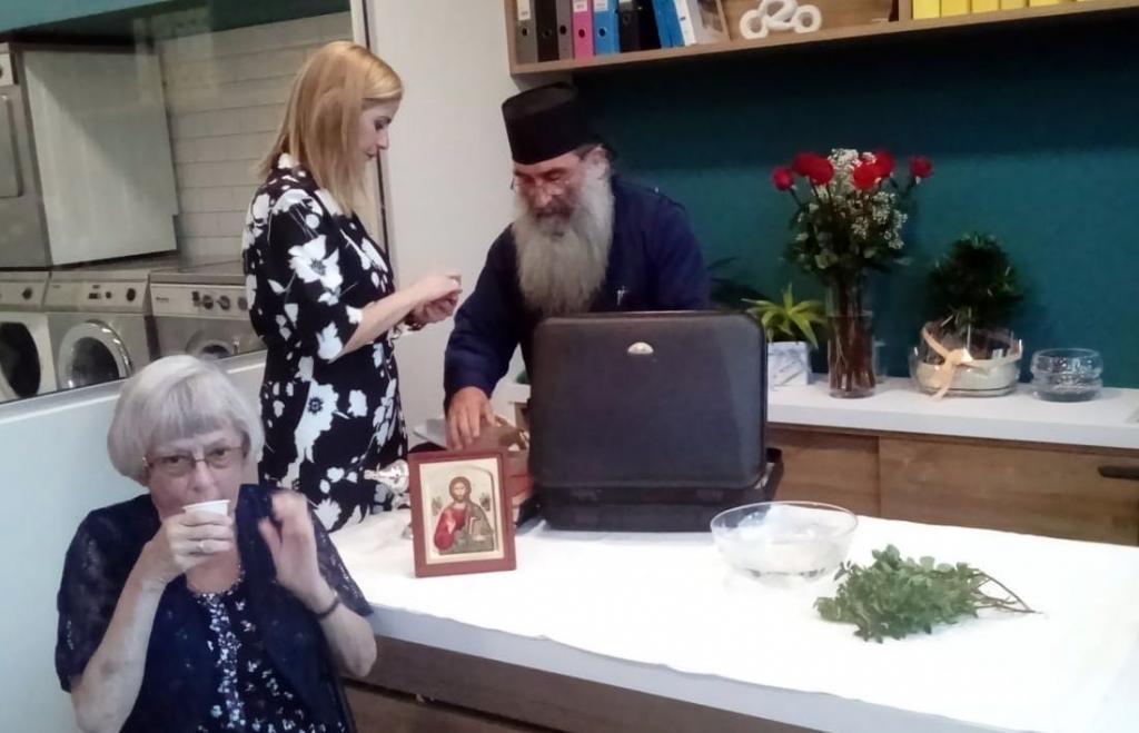 Olga und Pope